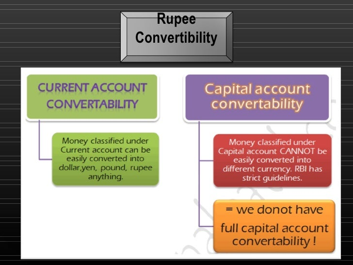 capital account convertibility a boon or The stock markets are falling, the rupee is sliding this may be time for ideas such  as taxes on capital outflows.