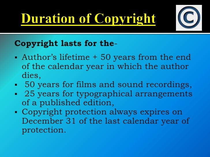    Gives permission to use copyrighted    materials if certain criteria are met   Protects freedom of speech   Promotes...