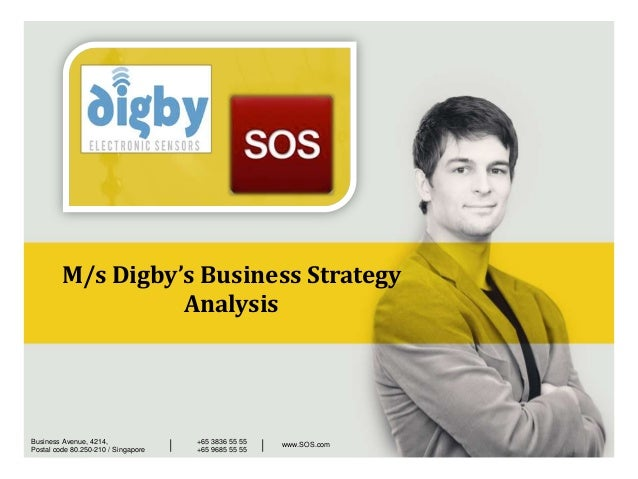 M/s Digby's Business Strategy AnalysisBusiness Avenue, 4214, Postal code 80.250-210 / Singapore +65 3836 55 55 +65 9685 55...