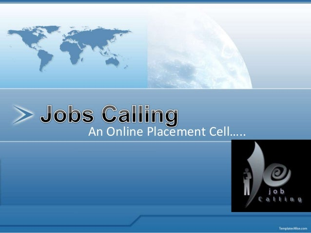 An Online Placement Cell…..