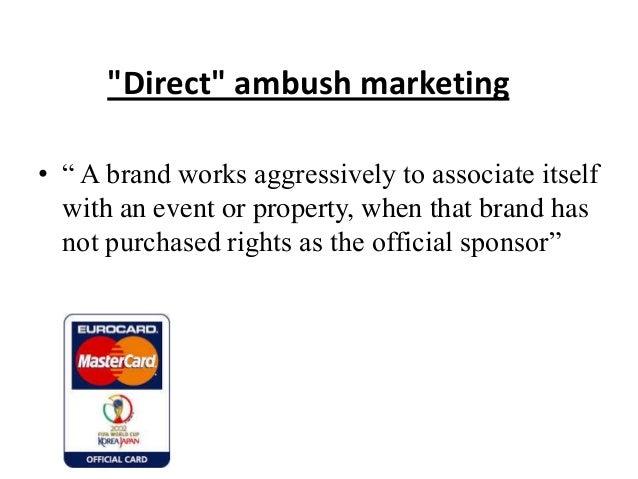 direct ambush marketing
