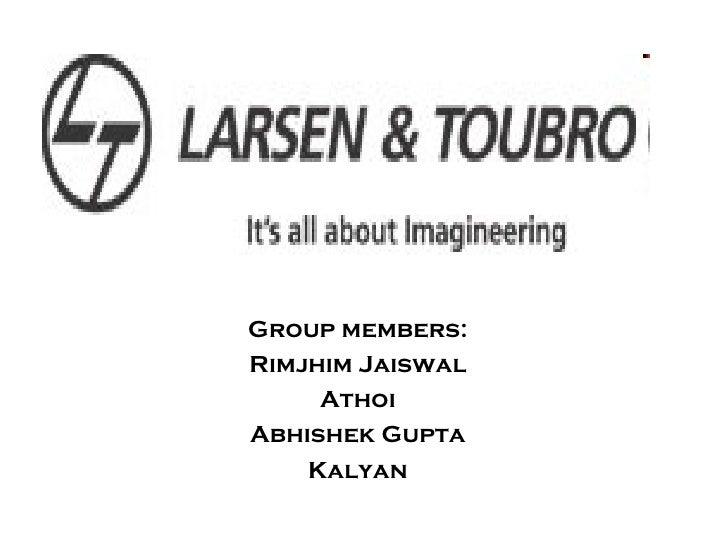 Group members: Rimjhim Jaiswal Athoi Abhishek Gupta Kalyan