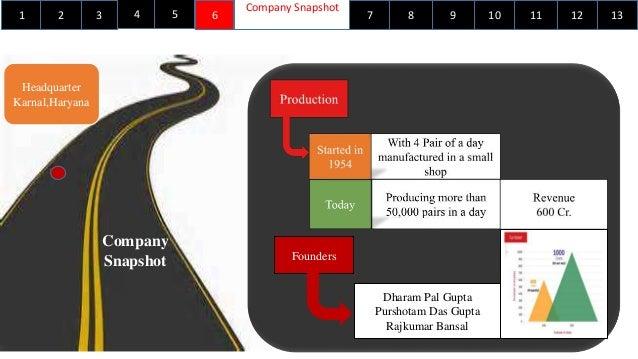 ... 7. 1 Company Snapshot ...