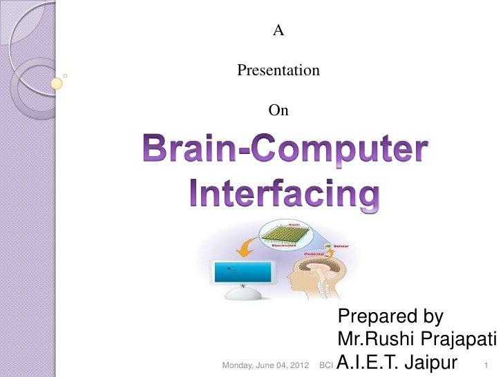A   Presentation           On                            Prepared by                            Mr.Rushi PrajapatiMonday, ...