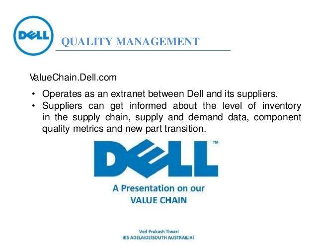 Custom Dell Inc. Supply Chain Essay