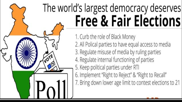 essay on election system in india Elections india is a democratic country elections form the very basis of democracy the parliamentary system holds elections for the composition of the government.