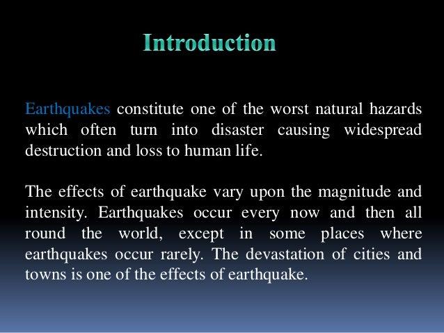 Earthquake Essay In English Pdf