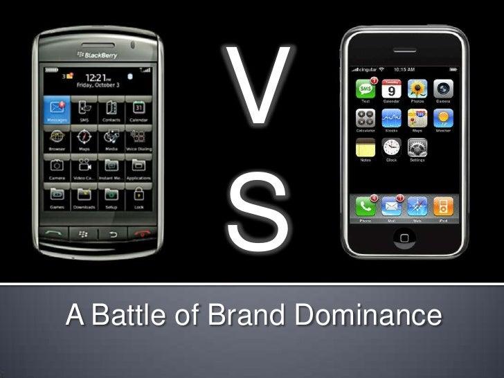 VS<br />V<br />S<br />A Battle of Brand Dominance<br />