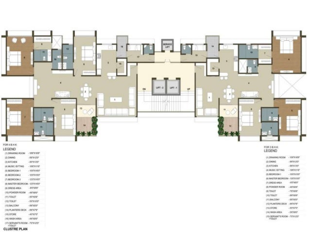 31 ivy 3 bhk 4 bhk highend flats for sale in bodakdev for 4 bhk apartment design