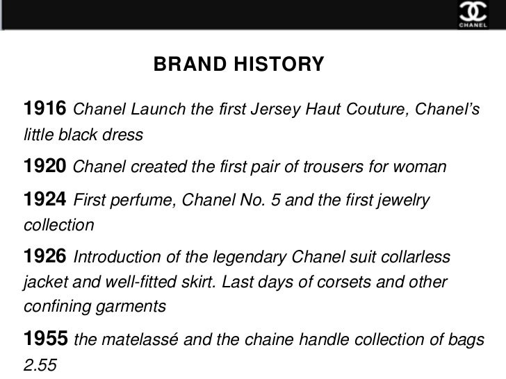 New Product Line For Chanel