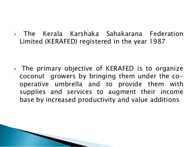 kerafed projecct Kerafed would position itself as the preferred supplier to the kitchen with its a project was to be taken up by the government-owned forest industries.
