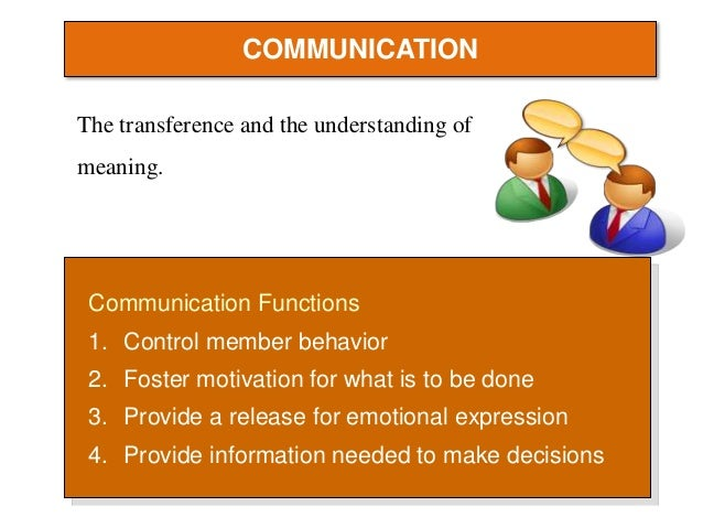 communication in team dynamics Team dynamics and communications essay sample knowledge about team dynamics and communication within small groups is important for each individual, who wishes to connect their specialty with management, psychology, sociology or social work.