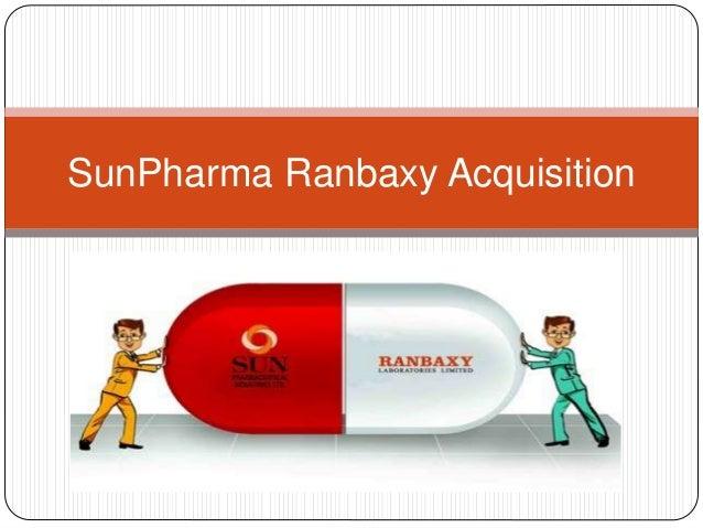 SunPharma Ranbaxy Acquisition