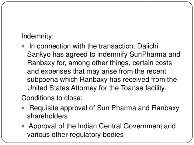 daiichis acquisition of ranbaxy Daiichi sankyo, a company known for its high-blood pressure drug benicar, also has an agenda to expand its presence in europe last month it made the acquisition of u3 pharma, a german biotechnology company focusing on research into antibodies for the treatment of cancer.