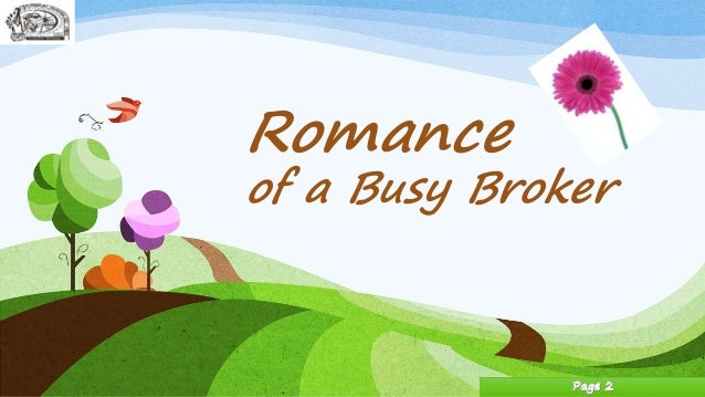 'The Romance Of A Busy Broker' by O. Henry