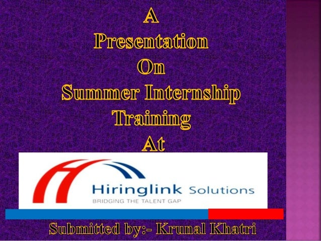 Hiringlink Solutions is a privately held organization specializing in Talent Acquisition and HR Business Partnering Servic...