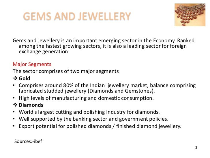 Final ppt of marketing research on jwellery industry Slide 2