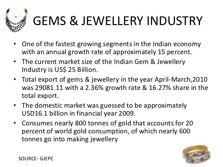 Final ppt of marketing research on jwellery industry Slide 3