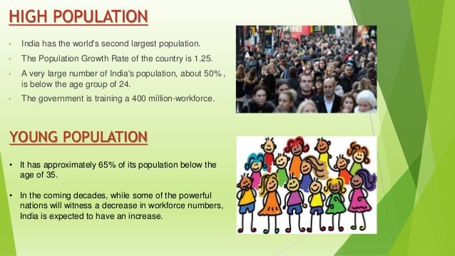 reason for high population in india
