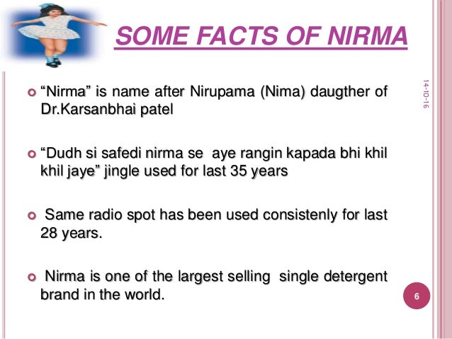 final ppt of nirma