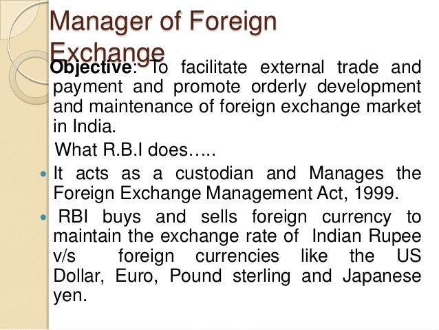 Foreign trading system project