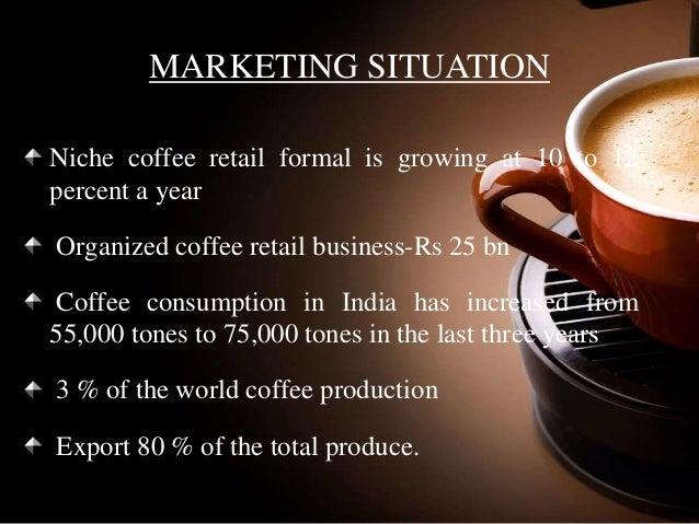 %name Gourmet Coffee India Coffee Market In India