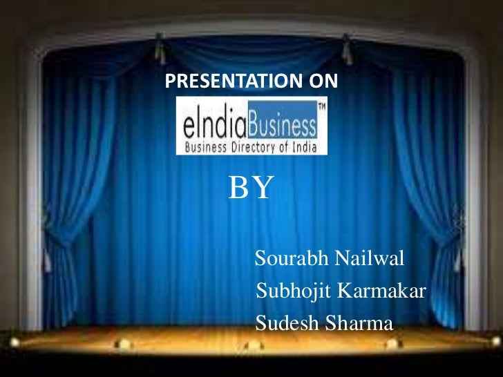 PRESENTATION ON     BY       Sourabh Nailwal       Subhojit Karmakar       Sudesh Sharma