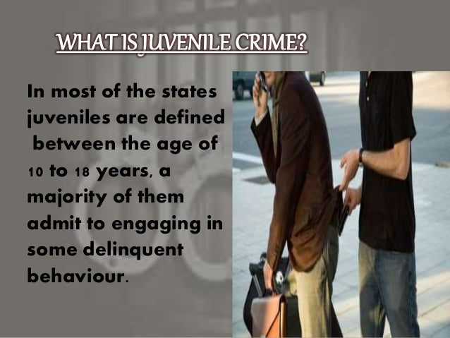 the future of juvenile crime To juvenile crime and delinquency  keep a juvenile in the adult system for all future proceedings, no matter how minor the charge, or even an acquittal the law .