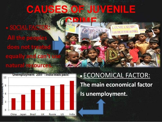 causes of juvenile delinquency in india