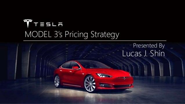 Tesla Model 3 - Pricing Analysis