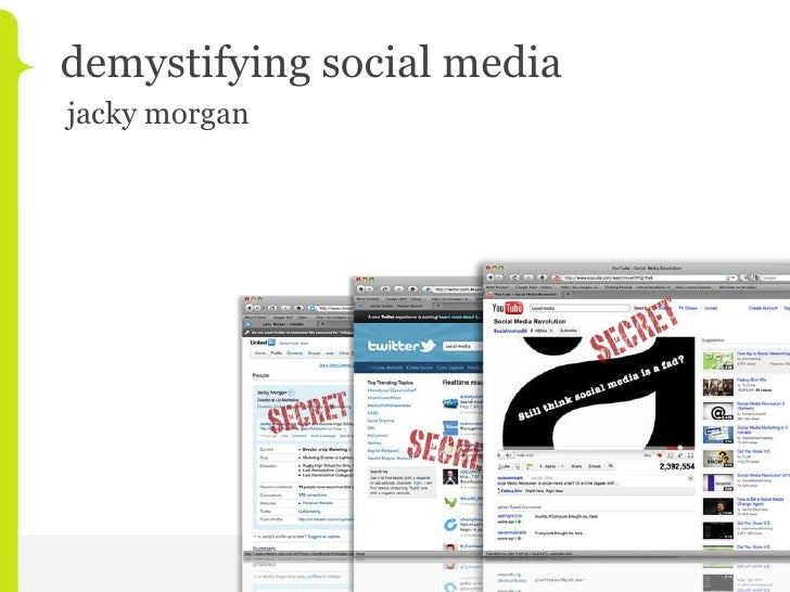 demystifying social media jacky morgan