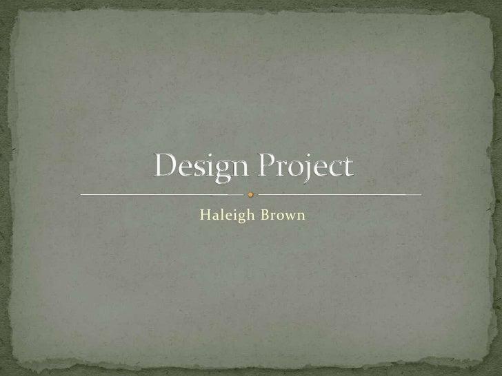 Haleigh Brown