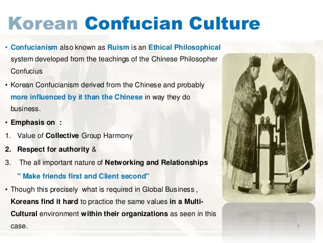 The importance of confucianism in korea
