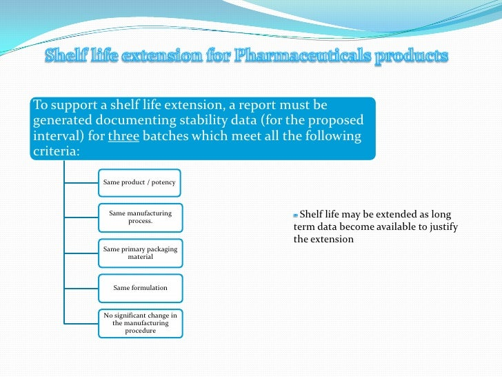 ISSN: 2231 Stability Testing of Pharmaceutical Products