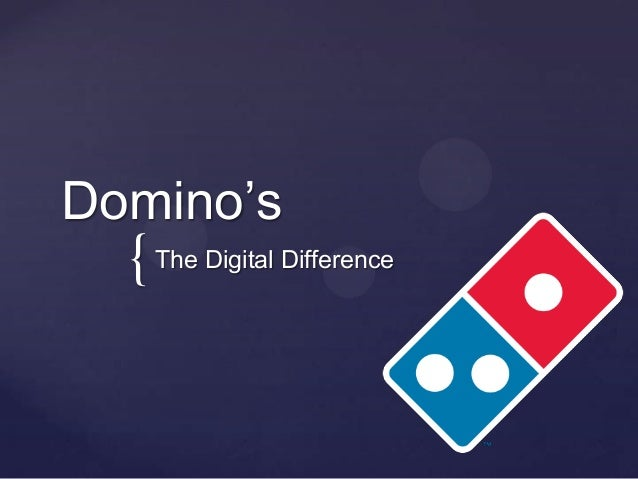 { Domino's The Digital Difference