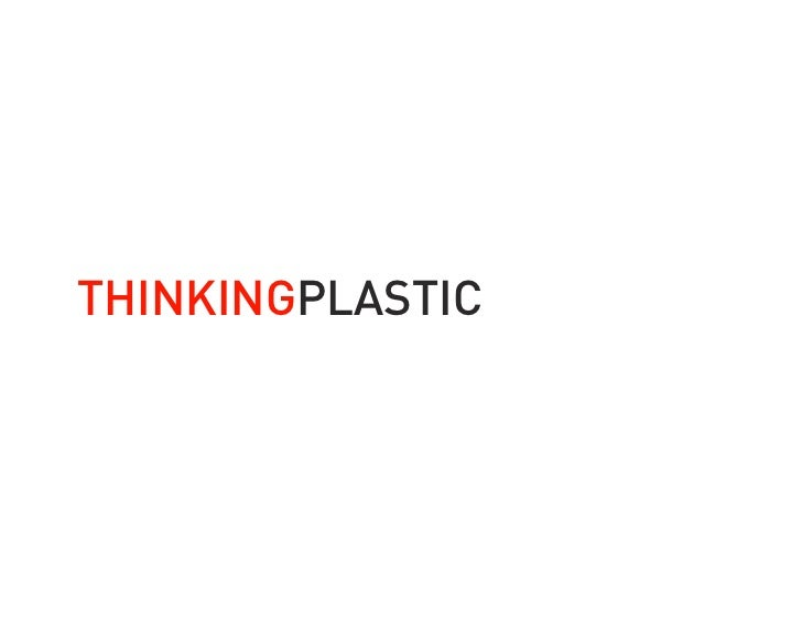 THINKINGPLASTIC