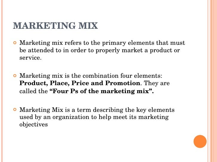 """identifying and describing the application of the marketing mix by an organization """"how to identify a target market and prepare a service or other parts of a marketing mix customer-organization's annual report will provide you."""