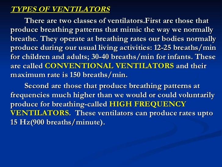 modes of mechanical ventilation pdf