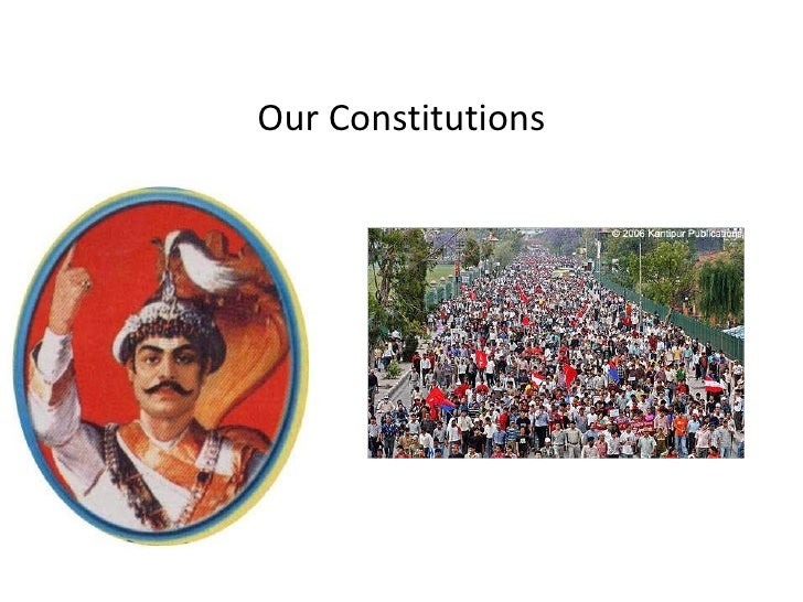 Our Constitutions