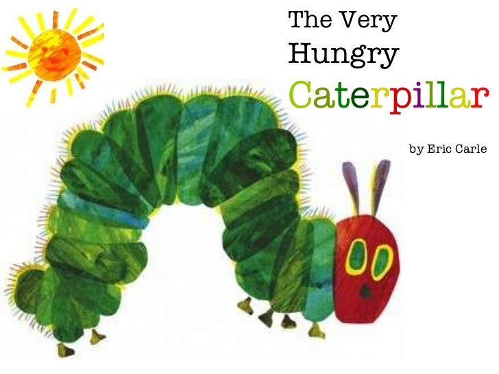 image about The Very Hungry Caterpillar Story Printable called The Fairly Hungry Caterpillar