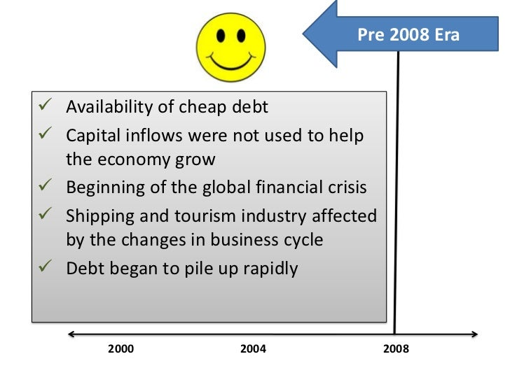 an analysis of the financial crisis of the greek government Abstract to what extent is greece's current economic crisis the result of monetary  policy  based on these analyses, we hope to discover whether monetary policy   policies, with the greek government running budget deficits to finance social.