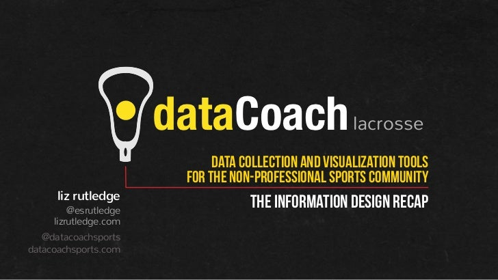 dataCoach lacrosse                              data collection and visualization tools                         for tHE no...