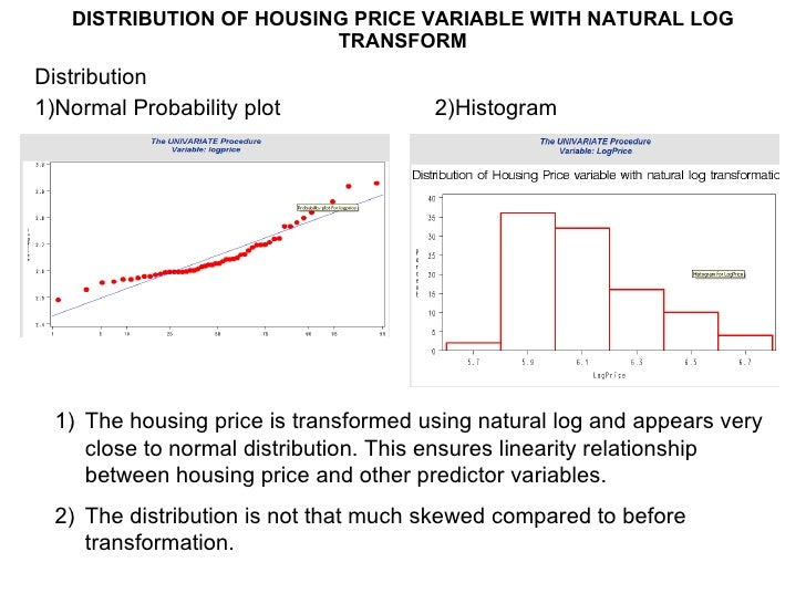 Prediction of house price using multiple regression