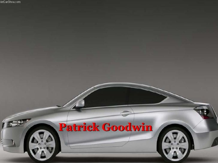 Patrick Goodwin Honda of America Mfg., Inc. Marysville Auto Plant  Plant Safety and Health Co-Op Fall 2007 (Oct.1-Dec.21)