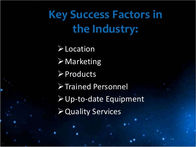 key success factors of pc industry Ibisworld identifies 250 key success factors for a business  companies in  this industry manufacture and assemble personal computers, laptops and servers.