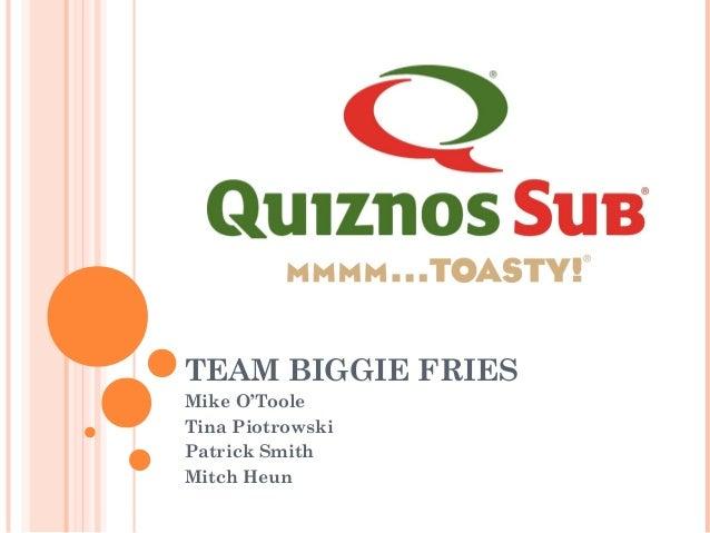 Quiznos case study