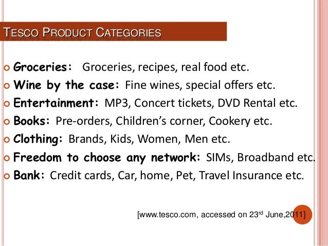 Presentation on tesco tesco product categories groceries groceries recipes real food forumfinder Images