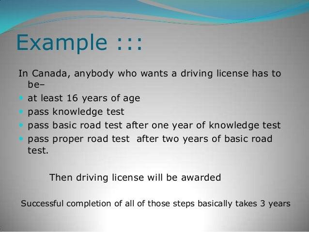 Presentation A License