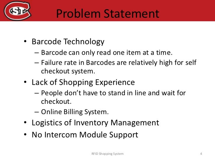statement of the problem of online shopping Online shopping here are some tips to consider when you are shopping online:   check credit card statements often to ensure the amounts and the sources for  your online shopping transactions are correct  resolve a problem or complaint.