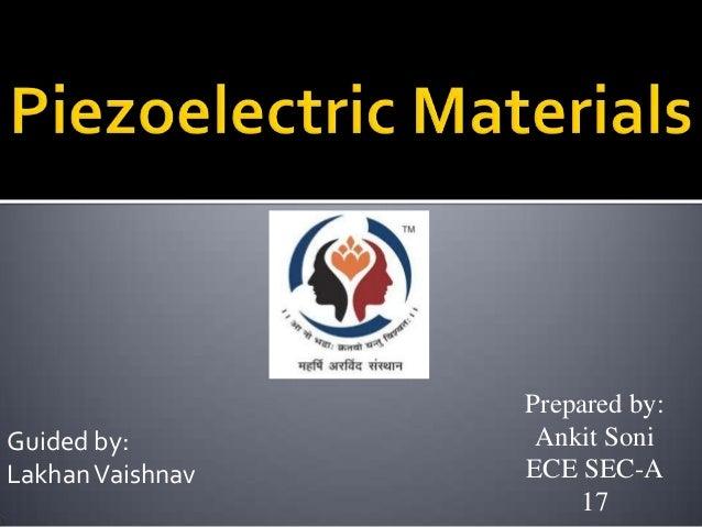 Guided by: Lakhan Vaishnav  Prepared by: Ankit Soni ECE SEC-A 17